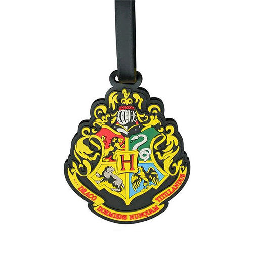 Harry Potter - Hogwarts Logo Emblem Travel Luggage Tag